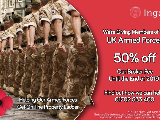 We're Giving Armed Forces Members 50% Off Our Broker Fee On Mortgage Applications