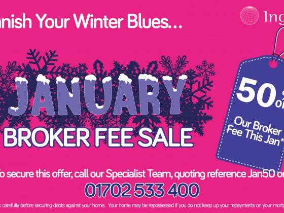 Banish the January Blues with 50% Off our Broker Fee this January!